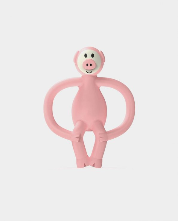 Mordedor Pig Teether Matchstick Monkey