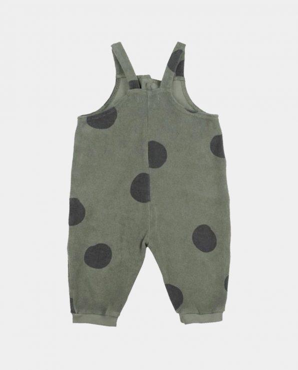 Peto para niños Geo Moss Baby Clic de algodón orgánico