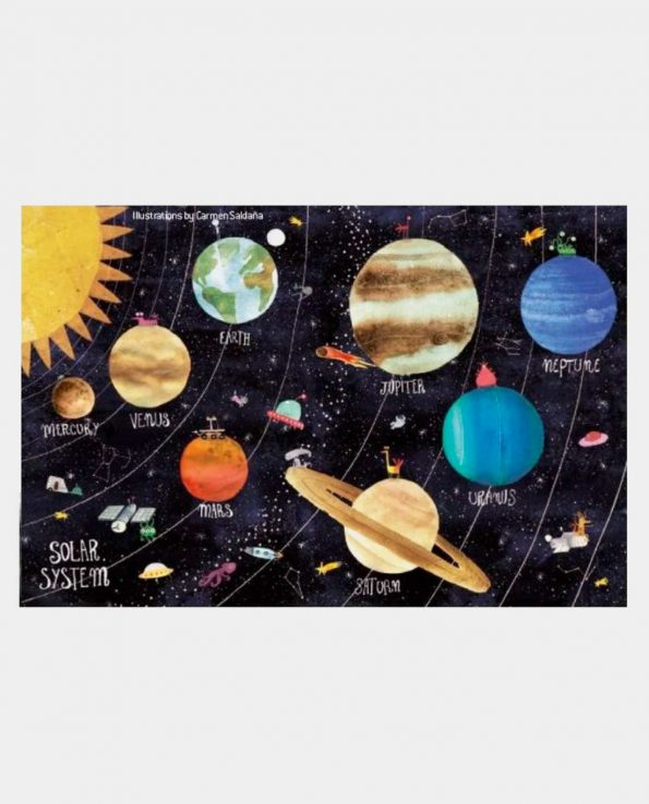 Micro Puzzle 150 pcs Discover the Planets Londji