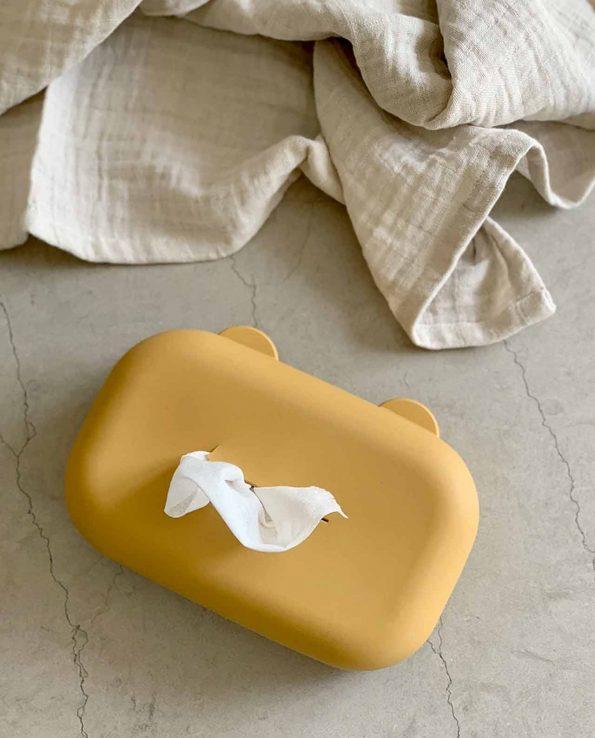 Caja Toallitas Silicona Mustard Liewood