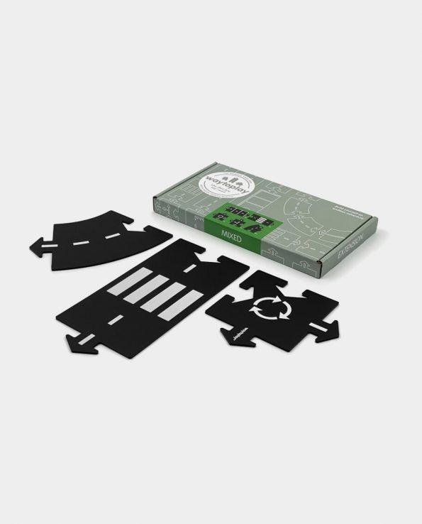 Carreteras Waytoplay Set Extensión Mixed juguete montessori waldorf reggio emilia