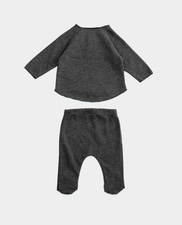 Conjunto Jersey Rasp Play Up para niño de algodón orgánico unisex