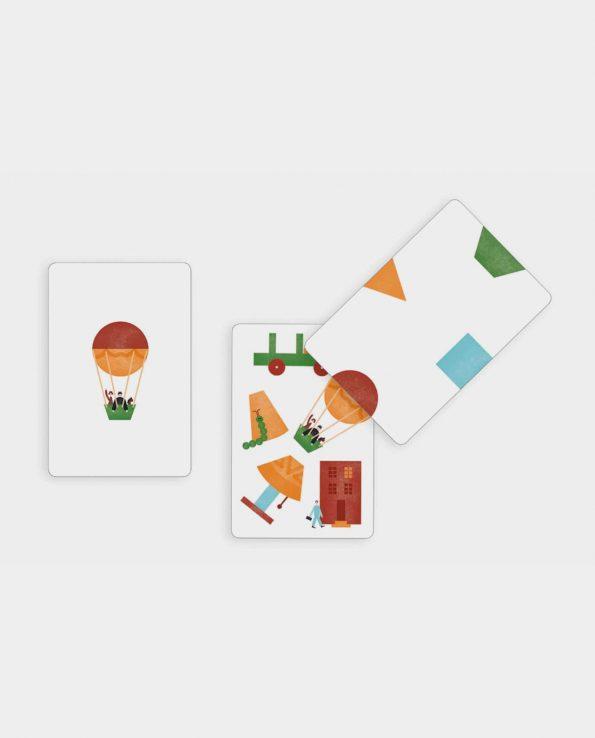 Juego de cartas para niños Kotakote Djeco