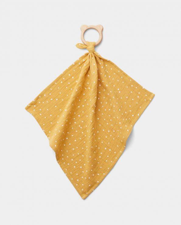 Mantita Mordedor Confetti Yellow Mellow Liewood