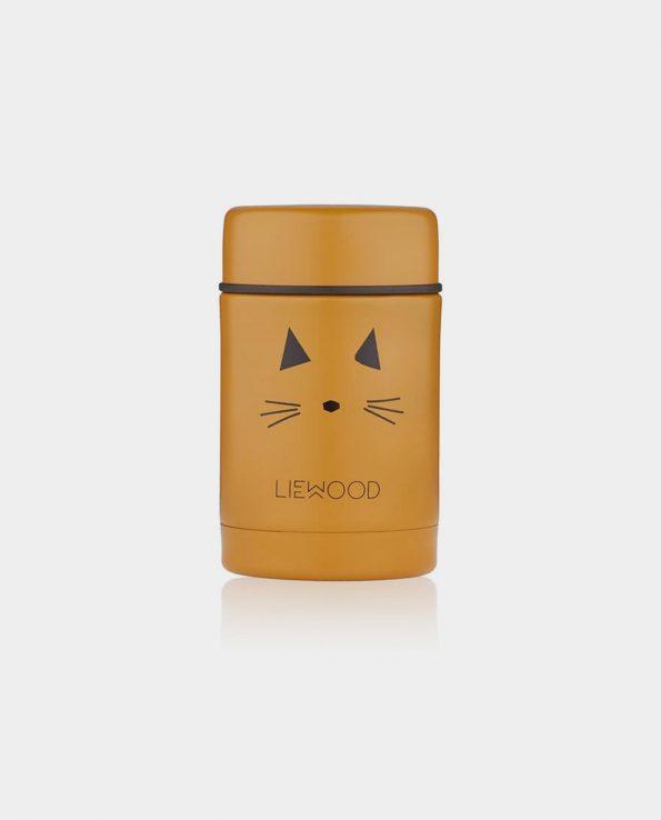 Termo de Sólidos Cat Mustard 250ml Liewood