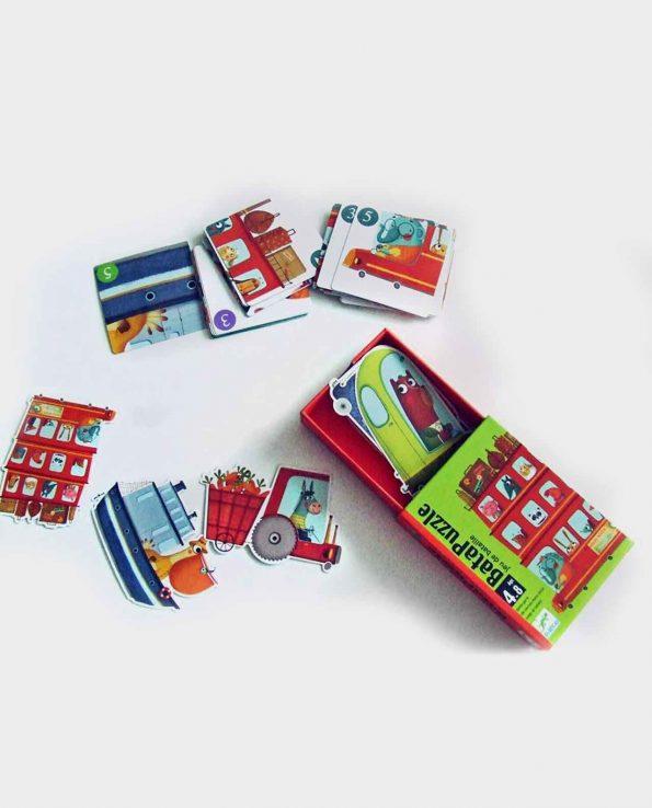 Batapuzzle Djeco puzzle infantil montessori waldorf reggio emilia