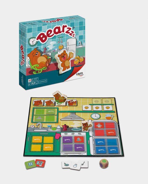 Juego de mesa para niños Bearzzz de Cayro