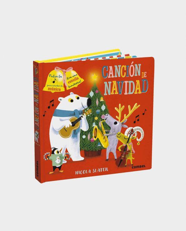 Libro musica infantil sobre la navidad Cancion de navidad de Combel