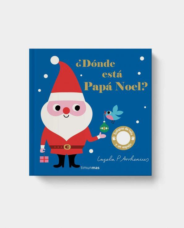 Libro infantil sobre la navidad y papa noel ¿Dónde está Papá Noel?