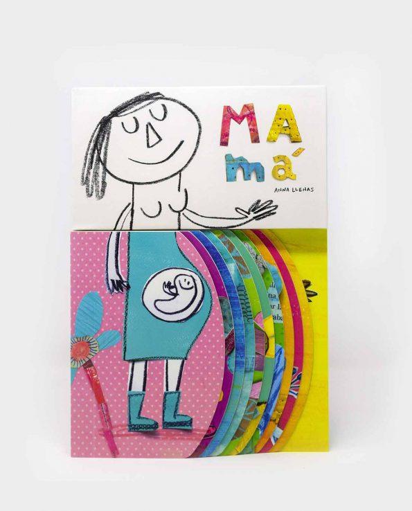 Libro Mamá de Anna Llenas libro con solapas ilustrado para niños infantil