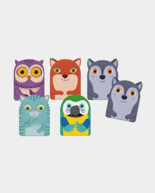 Little Family Djeco juego de cartas infantil montessori waldorf reggio emilia