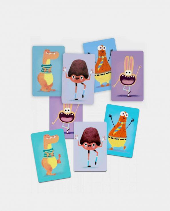 Mimo Rigolo de Djeco juego de parejas de cartas para niños montessori waldorf reggio emilia