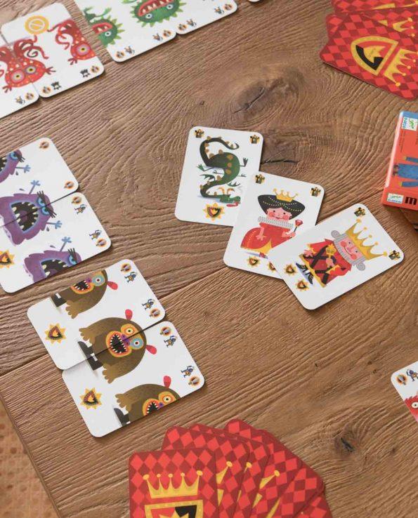 MIstigriff Djeco juego de cartas de parejas montessori waldorf reggio emilia