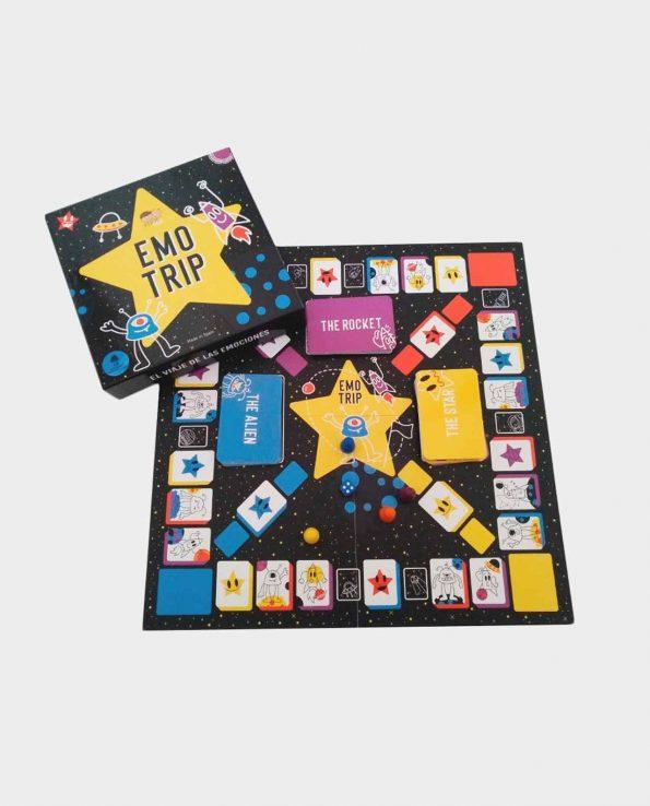 Emo Trip Mutkids juego de mesa para niños montessori waldorf reggio emilia