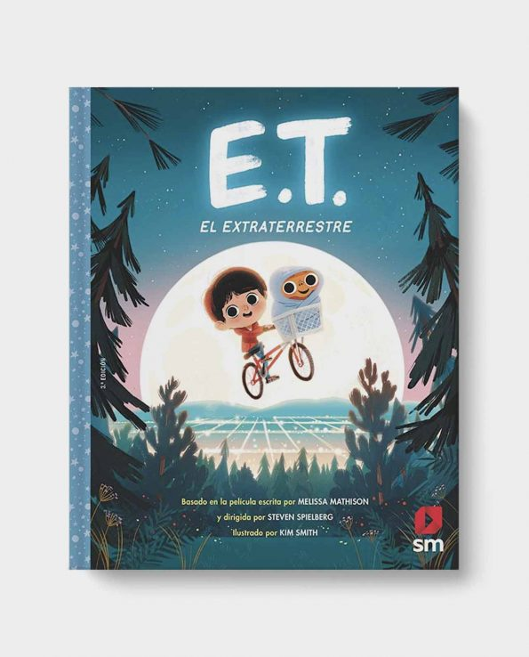 Libro E.T. El Extraterrestre ilustrado infantil