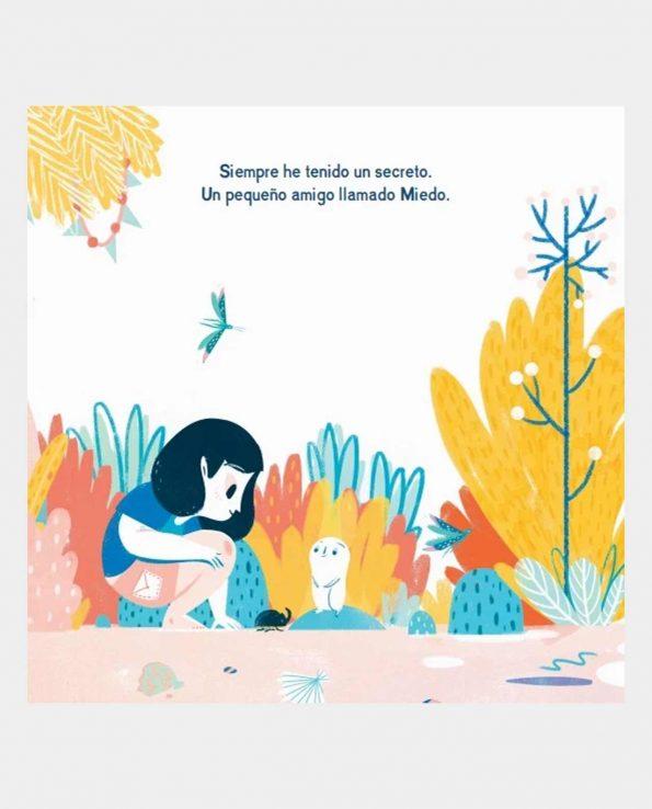 Libro infantil ilustrado Mi Miedo y Yo que habla sobre el miedo para los niños