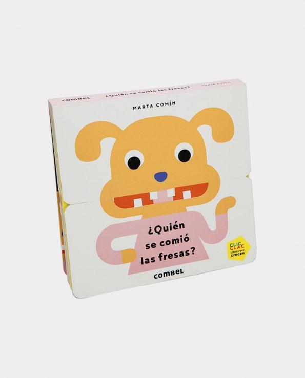 Libro infantil con solapas ¿Quién se comió las Fresas? Montessori Waldorf Reggio Emilia