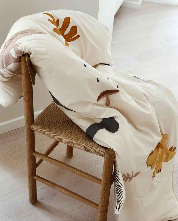 Alfombra de Juego Dino Mix Liewood Manta de actividades de algodón orgánico montessori waldorf reggio emilia