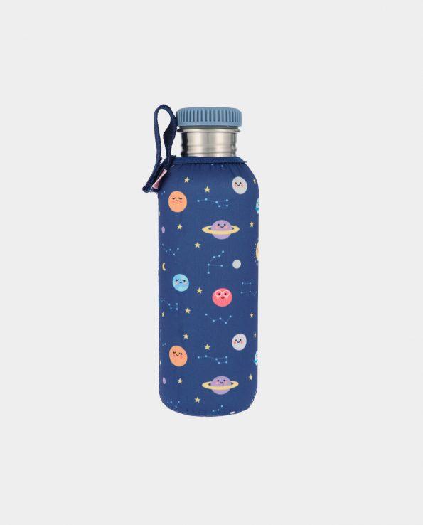 Botella Acero con Funda Planetas 750 ml