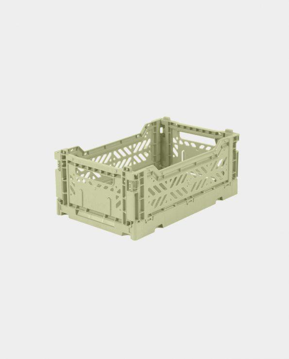 Caja Plegable Mini Lime Cream