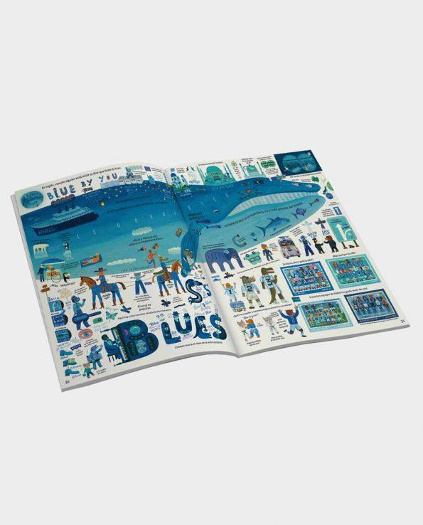 Libro ilustrado para niños El libro más bonito de todos los colores