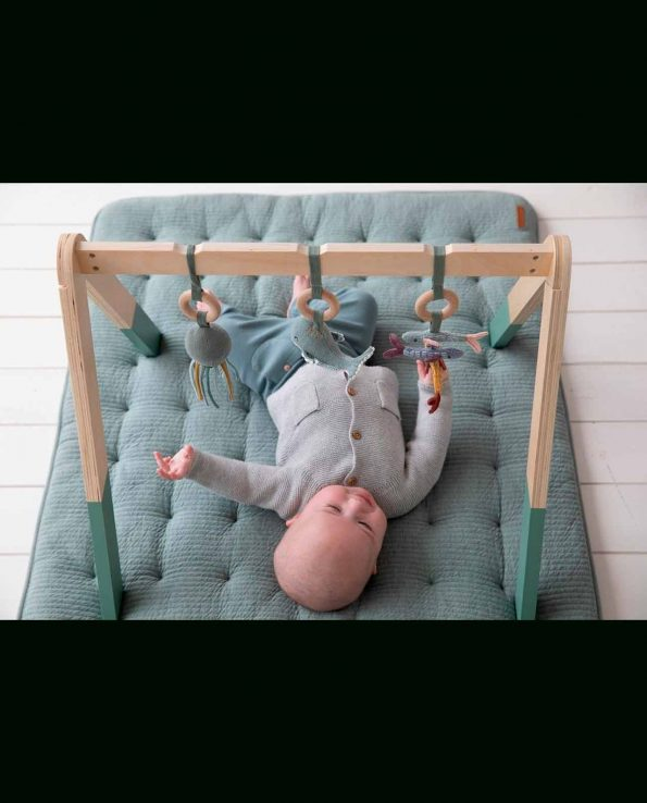 Baby Gym con juguetes Ocean Menta Little Dutch
