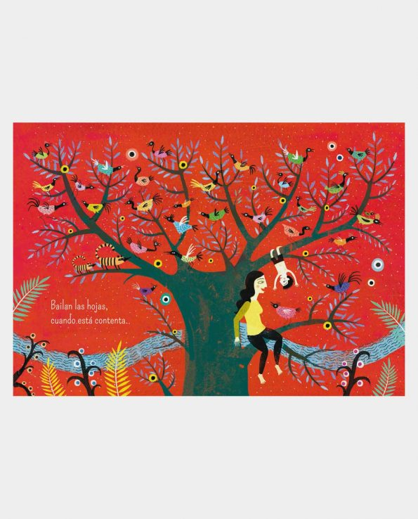 Libro Mamá Kalandraka libro ilustrado infantil de como nacen los hijos y se es mama
