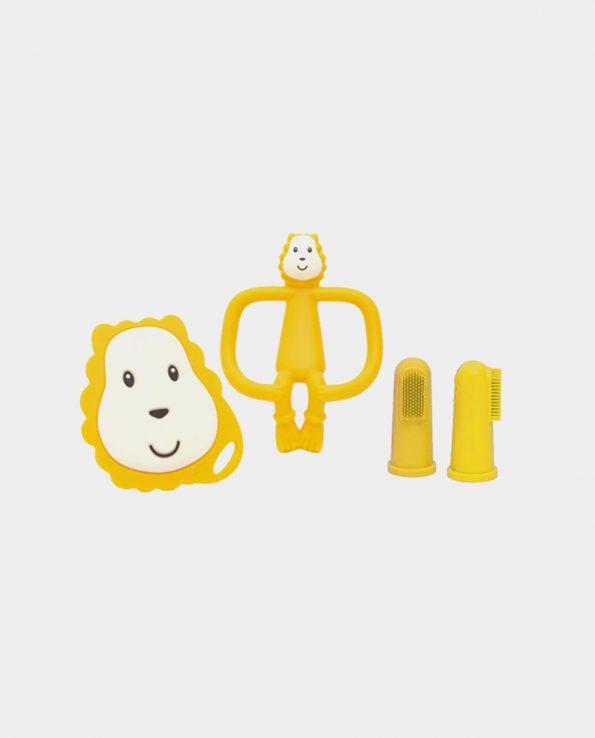 Set Iniciación Dentición León Amarillo Matchstick Monkey