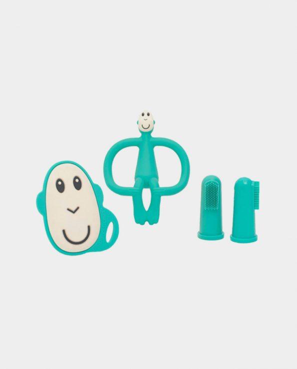 Set Iniciación Dentición Mono Verde Matchstick Monkey